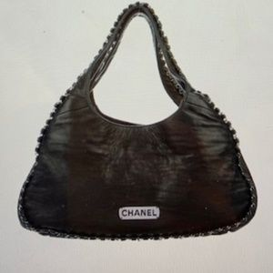 Chanel Lambskin Chain Hobo Bag